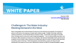 WP_Challenges_In_The_Water_Industry_Meeting_Demand_in_the_West041608.pdf