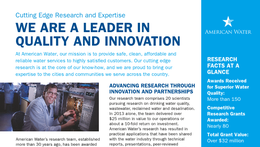 Research and Innovation fact sheet